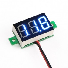 Mini Voltage Meter 3-30V blue
