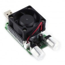 35W electronic load + USB - adjustable from 0 to 4.5A
