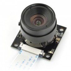 ArduCam OV5647 5Mpx camera with lens LS-2716 CS mount - night for Raspberry Pi