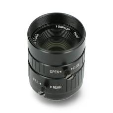 10Mpx 25 mm C montuojamas teleobjektyvas - Raspberry Pi fotoaparatui - Seeedstudio 114992274