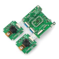 1Mpx stereoscopic camera for Raspberry Pi and Nvidia Jetson Nano - Arducam B0266