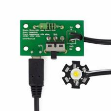 1W-microUSB LED lempos kūrimo rinkinys - Kitronik 2161