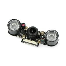 5 Mpx Pi Supply Night Vision Fisheye Camera for Raspberry Pi