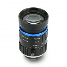 Telephoto Lens 50mm C mount 8MPx, for Raspberry Pi HQ camera, Seeedstudio 114992276