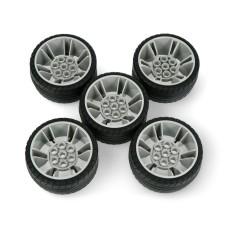 Abilix a set of additional wheels for Krypton robots - 5 pcs