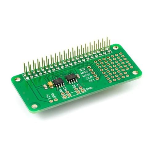 ADC-DAC Pi Zero MCP3203 + MCP4822 - A/C ir C/A