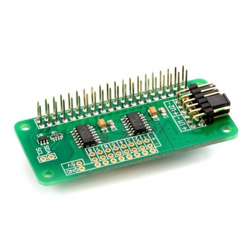 ADC Differential Pi - MCP3424 - 8 kanalų A / C