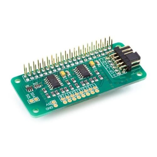 ADC Pi MCP3424 - 8 kanalų A / C