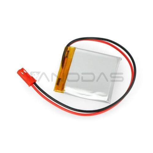 Akyga 1000mAh 1S 3.7V Li-Pol akumuliatorius - 36x36x7.5 mm