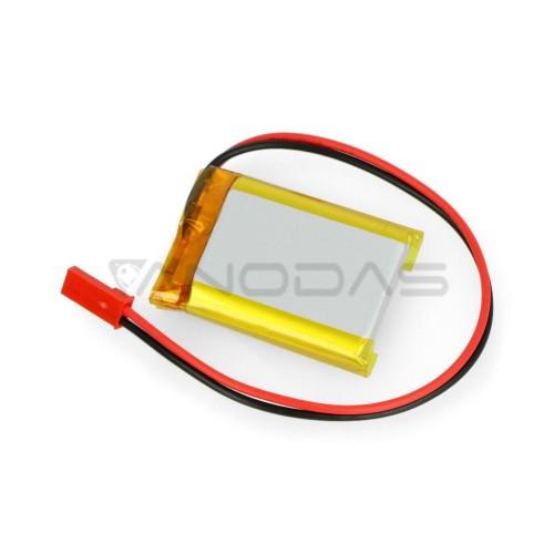 Akyga 1000mAh 1S 3.7V Li-Pol akumuliatorius - 40x30x8 mm