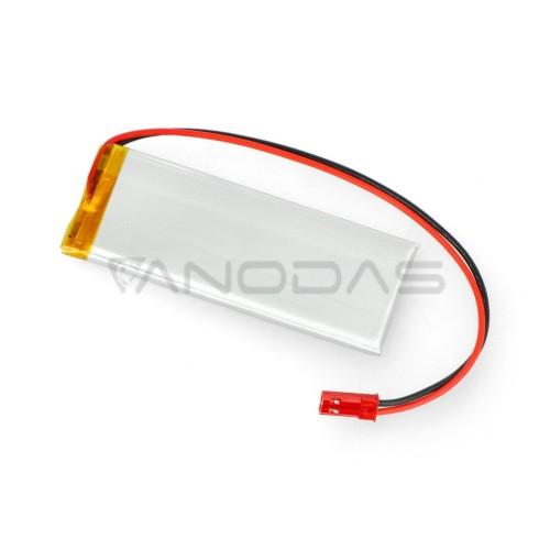 Akyga 1050mAh 1S 3.7 V Li-Pol akumuliatorius - 78x30x4.3mm