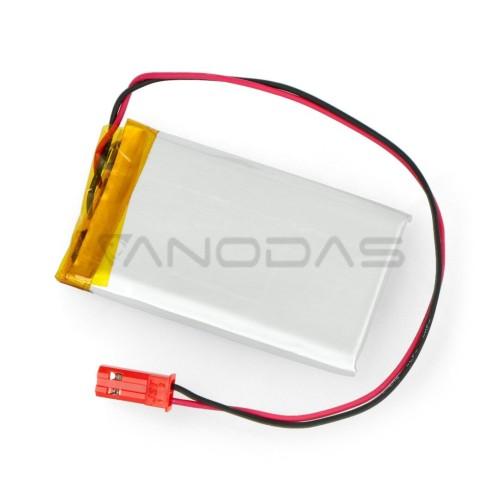 Akyga 1100mAh 1S 3.7V Li-Pol akumuliatorius - 55x38x5mm
