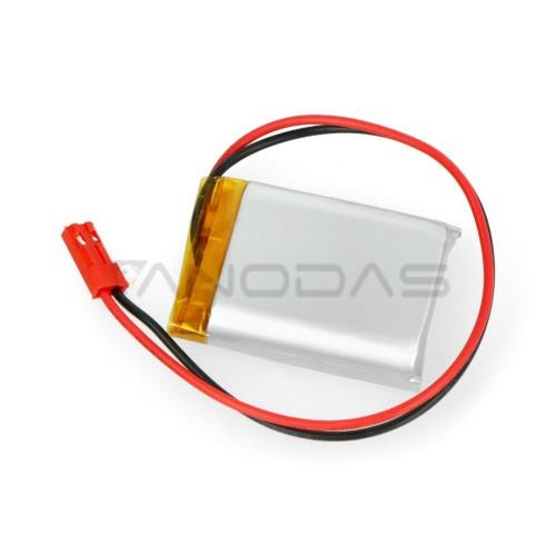 Akyga 1200mAh 1S 3.7V Li-Pol akumuliatorius - 40x30x10mm