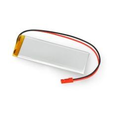 Akyga 1500mAh 1S 3.7V Li-Pol akumuliatorius - 83x30x5mm