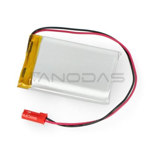 Akyga 1850mAh 1S 3.7V Li-Pol akumuliatorius - 40x30x10mm