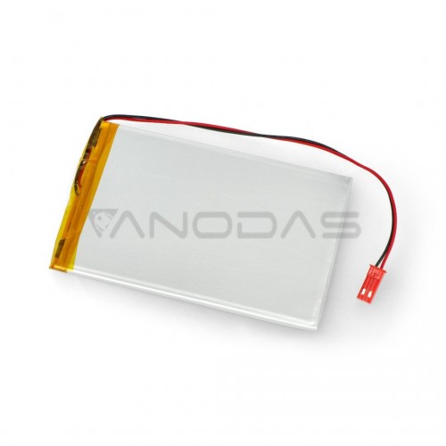 Akyga 2400mAh 1S 3.7V Li-Pol akumuliatorius - 100x67x3mm