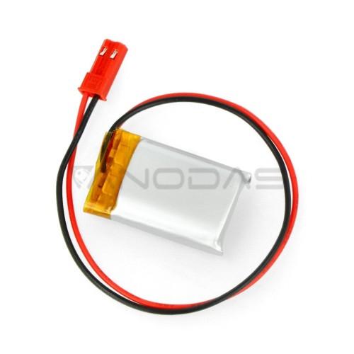 Akyga 300mAh 1S 3.7V Li-Pol akumuliatorius - 30x20x7mm