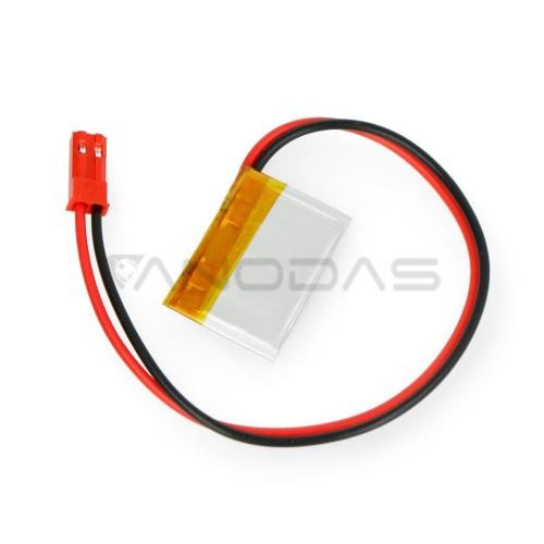 Akyga 33mAh 1S 3.7V Li-Pol akumuliatorius - 28x17x1.4mm