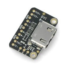 DVI Breakout plokštė, adapteris su HDMI/DVI jungtimi, skirtas Raspberry Pi Pico, Adafruit 4984