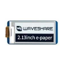 Display E-paper E-Ink, 2.13'' 250x122px, SPI, black and white, for Raspberry Pi Pico, Waveshare 19406