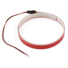 EL Tape, elektroliuminescencinė juosta, raudona, 1 m, SparkFun COM-10796