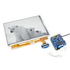 E-paper E-Ink 9.7 1200x825px, Raspberry Pi ekrano priedėlis, Waveshare 15195