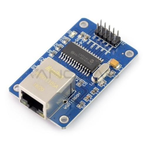 Ethernet ENC28J60 tinklo modulis - 3.3V/5V