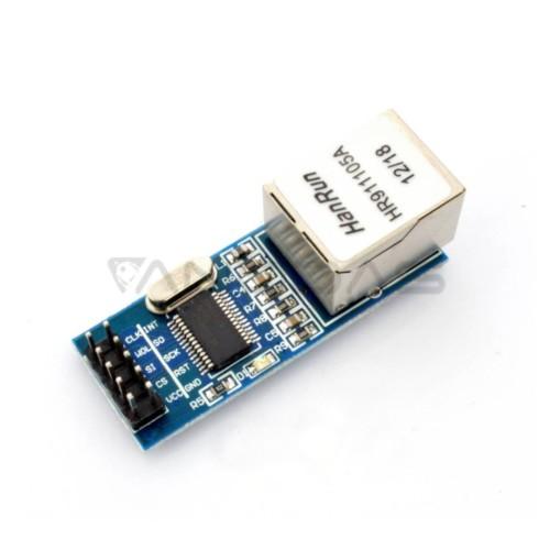 Ethernet tinklo modulis ENC28J60 mini