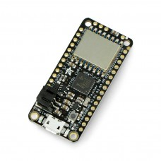 Feather M0 + radio module 433 MHz RFM96 LoRa, compatible with Arduino, Adafruit 3179