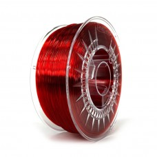 3D plastikas Devil Design PMMA 1.75mm 1kg - Ruby Red Transparent