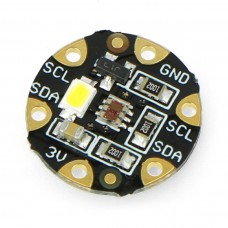 FLORA, spalvų jutiklis TCS34725 su LED apšvietimu, Adafruit 1356