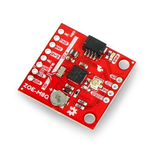 GPS ZOE-M8Q modulis, Qwiic, SparkFun GPS-15193