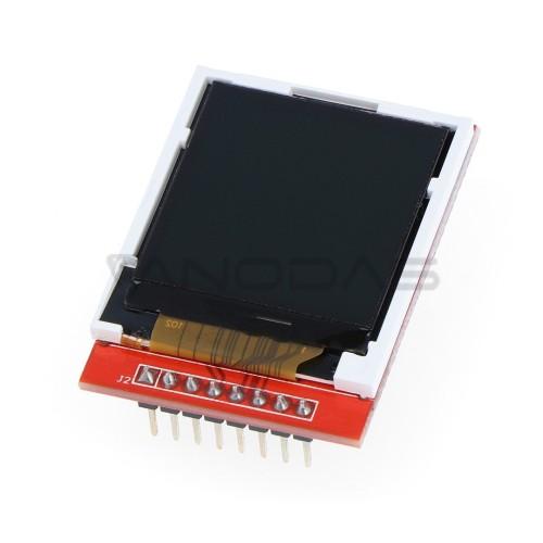 "Grafinis spalvotas TFT LCD ekranas 1.44"" 128x128px - SPI"