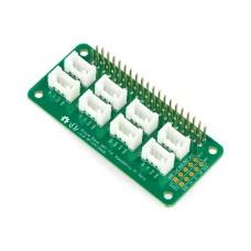 Grove, pagrindo išplėtimas skirtas Raspberry Pi Zero, priedėlis Raspberry Pi Zero