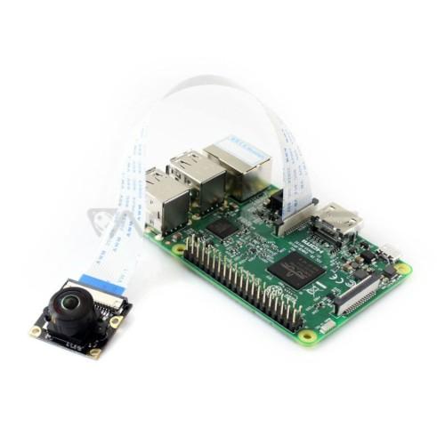 HD G kamera OV5647 5Mpx, plataus kampo, skirta Raspberry Pi, Waveshare 14037
