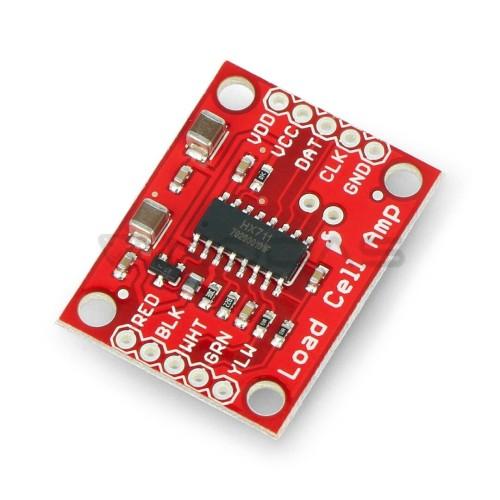 HX711, apkrovos elementų stiprintuvas, SparkFun SEN-13879