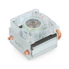 ICE Tower procesoriaus aušinimo ventiliatorius RGB, skirtas Raspberry Pi 4B / 3B+ / 3B