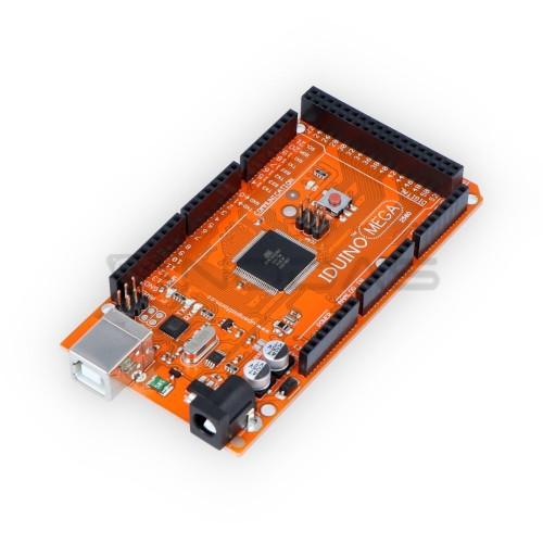 Iduino Mega 2560 - suderinamas su Arduino + USB laidas