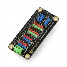 I/O išplėtimo priedėlis, skirtas Raspberry Pi Zero/Zero W - DFRobot DFR0604