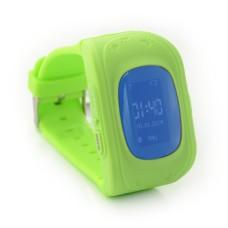 Išmanusis laikrodis vaikams su GPS lokatoriumi ART LOK-1000G - žalias