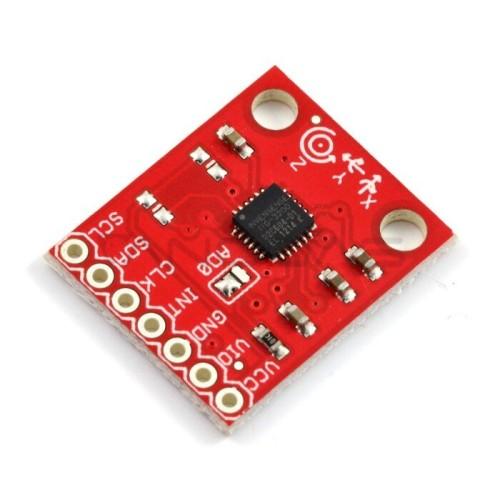ITG-3200 3 ašių I2C skaitmeninio giroskopo modulis, SparkFun SEN-11977