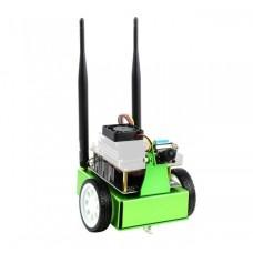 JetBot, rinkinys skirtas dviejų ratų Al roboto platformai su kamera, DC varikliu ir OLED ekranu surinkti, Waveshare 16909