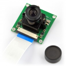Camera HD B OV5647 5Mpx, with focus adjustment for Raspberry Pi, Waveshare 8193