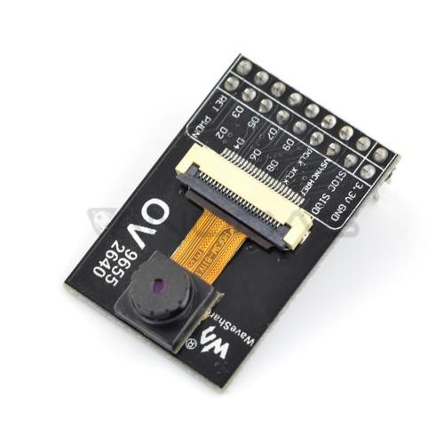 Fotoaparato modulis OV2640 2MPx 1622x1200px 60fps, Waveshare 8532