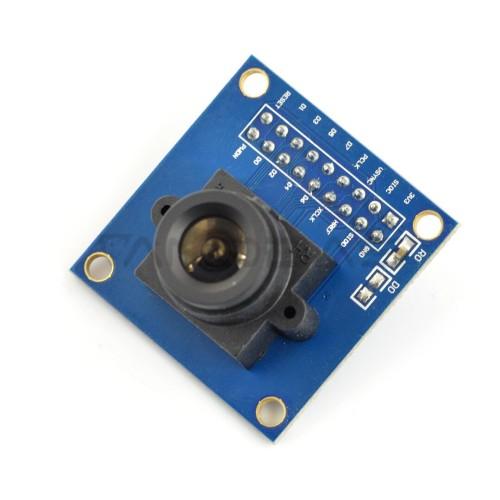 Fotoaparato modulis OV7670 B 0.3MPx 640x480px 30fps, Waveshare 9828