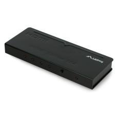 Lanberg - 4x HDMI - HDMI šakotuvas Juodas