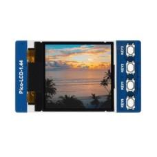 """TFT LCD ekranas 1.44"""" 128x128px, SPI, 65K RGB, skirtas Raspberry Pi Pico, Waveshare 19576"""