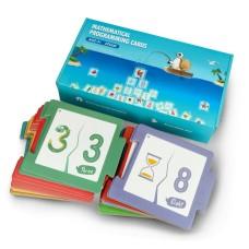 Mathematics cards for the robot Qobo Robobloq