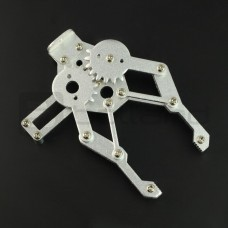 Metalinės žnyplės roboto rankai