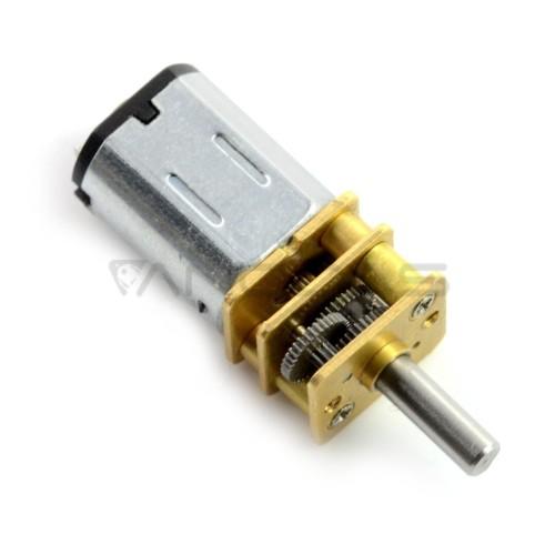 Micro variklis N20-BT37 210:1 140RPM - 9V
